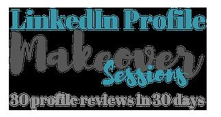LinkedIn Profile makeover sessions